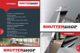 Aluminium Operable Shutters Brochure