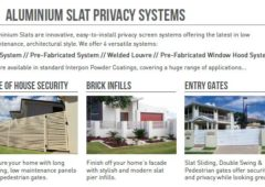 Aluminium Slat Brochure
