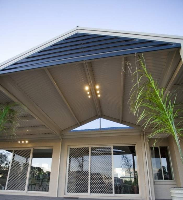 Aluminium Gable Slat Screens