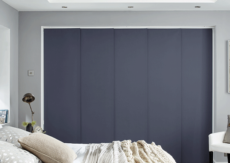 Blue - Grey Panel Blinds