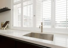Plantation Shutter Bi-Fold with Locks
