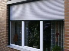 Recessed fitted Roller Shutter