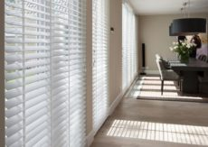 Safe Lift Polyresin White Venetian Blinds 50mm slats