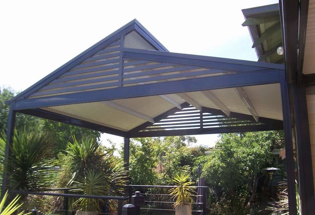 Aluminium Gable Slat Screens Shuttershop Residential
