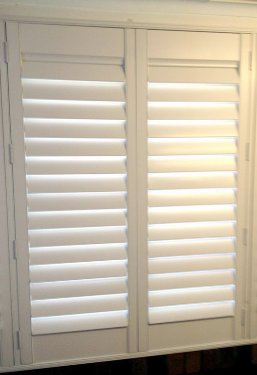 Front porch enclosures Polyresin shutters at Ryde