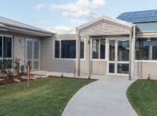 2 Gable Infill Ascot Gardens Dementia Centre Orange
