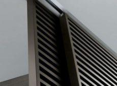 Aluminium Slat Screen Sliding Panels