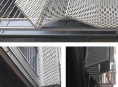 Bi-Fold Perforated Panels