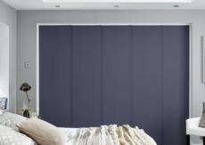 Blue - Grey Panel Blinds