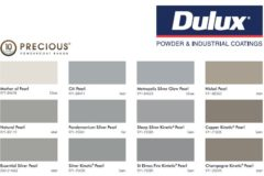 Dulux Powder Coating Colour Chart