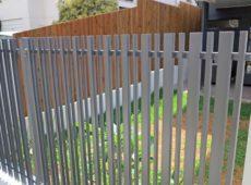 Random Aluminium Slat Screen Fence