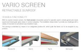 Vario screen brochure