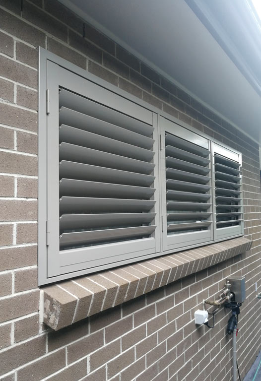 Ermington: Aluminium Plantation Shutters