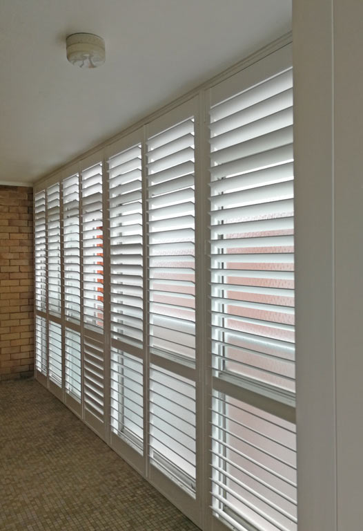 Mosman: Poly Plantation Shutters